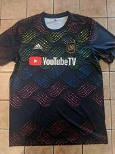 LAFC Pride Prematch Training Jersey adidas Men's MLS NWT sz Large