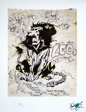 "LEE Quinones ""Lions Den"" Limited Edition Printt, Graffiti, Not SEEN, COPE2"