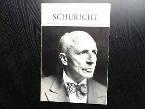 Carl SCHURICHT - Grosse Interpreten - SIGNED !!