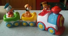 Disney Baby Clementoni Musical Train. Mickey Mouse. Donald Duck. Pluto.