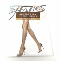 Hanes Absolutely Ultra Sheer Pantyhose Hosiery Size E Gentlebrown Control Top