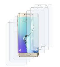 6 x Schutzfolie Samsung Galaxy S6 Edge+ Plus Matt (3x VORN + 3x HINTEN) Folie