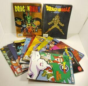 LOT of 14 Beckett Collector Guide Dragon Ball Z Score CCG DBZ Magazine Issues