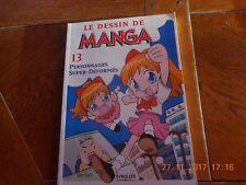livre le dessin de manga  eyrolles GEN SATO 2005