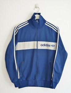 Adidas 3 Striped Logo Small Track Top / Track Jacket - Unisex Vintage
