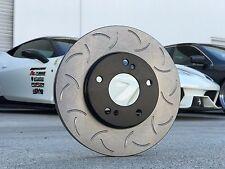 [88ROTORS] CSR Premium Slotted Only Brake Rotors SRT4 NEON [REAR PAIR]