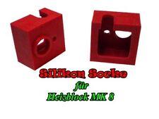 Silikon Socke für MK 8. 2 Stück.(Anet A6,A8)