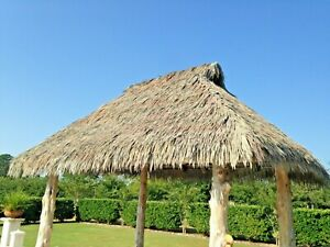 Synthetic 20 yr Viva Fire Rated Palm Thatch - Mexican Palm Thatch Replace Bundle