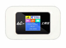Travel 4G Wireless Router Mobile Wifi Hotspot 2100mAh Battery With Sim Card Slot