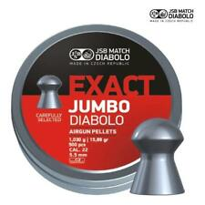JSB Exact Jumbo Diabolo .22 Air Rifle Pellets 5.51 Air pistolet munitions boîtes de 500