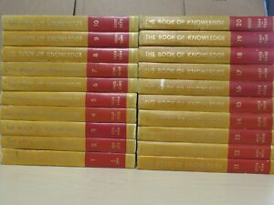Grolier The Book of Knowledge The Children's Encyclopedia 20 Volume Set 1963