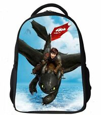Toothless How To Train Your Dragon Backpack School Bag Children Kids Boy Girl