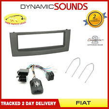 FIAT GRANDE PUNTO Auto Stereo Single Din Fascia VOLANTE Interfaccia Kit