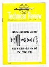 BRUEL & KJOER - TECNICAL REVIEW - Nº 3 - 1965
