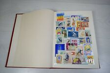 Vintage Collectible Big Album Of Romania Military Post Stamps Preserved 60s