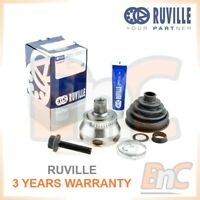 GENUINE RUVILLE HD CV JOINT DRIVE SHAFT SET AUDI A6 C5 1.8T 2.4 2.7T 2.8 3.0