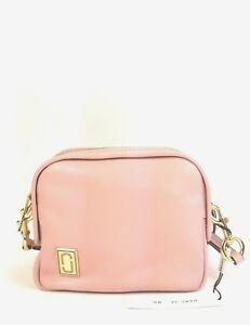 Marc Jacobs Satchel Leather The Mini Squeeze Handbag (Dusty Blush)