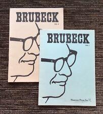 Vintage 1956 Dave Brubeck Volumes 1 and 2: Original Themes & Improvs Solo Piano