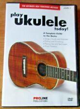Play Ukulele Today! Proline Publications Dvd John Nicholson Music Level 1