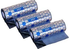 "Reckhorn ABX Alubutyl Dämmmaterial, 3 Rollen à 40cm x 5m=6m² ""SPARPAKET"""