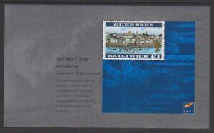 Guernsey - 2001, View of Guernsey, Redrawn sheet - MNH - SG 927