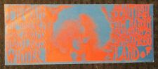 MOBY GRAPE Winterland 8.25x3.25 Family Dog Concert Post Card FN 6.0