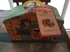 VINTAGE LIDDLE KIDDLES KLUB HOUSE CASE WITH RARE TAG