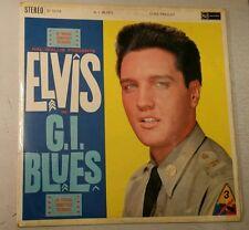 RARE ELVIS L.P ' G.I BLUES ' RCA ORANGE VICTOR LABEL  CAT.No. SF5078 EXC./ V.G