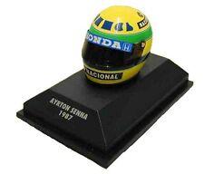 Minichamps 1/8 Senna Lotus Honda Casque Helmet 1987
