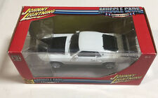 1:24 Johnny Lightning  White 1969 Ford Mustang Mach 1 New In Box
