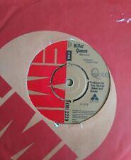 """QUEEN - 7"""" Vinyl - Killer Queen / Flick of The Wrist -1974 - EMI - Original"""