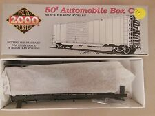 HO PROTO 2000 ERIE #65093 50' AUTOMOBILE BOX CAR W/ END DOORS KIT