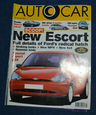 Autocar January Cars, 1990s Transportation Magazines