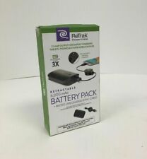 Retrak Mobile Power Pack With Retractable Cord to Charge Your Smartphone 6000mAh