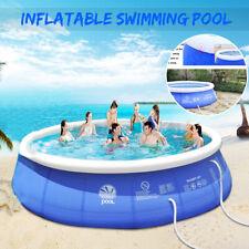 360 x 90cm Groß Pool Quick Up Gartenpool Aufstellpool Schwimmbad blau Ersatzpool
