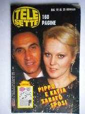 telesette 1986 4 baudo ricciarelli stallone placido carra majors taylor fellini