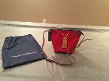 Women's Dooney & Bourke GX129 E5 Serena Crossbody Red/Royal Blue NWT! RARE!