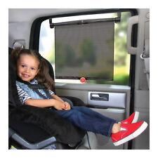 Safe Fit Safe Temp SUN SHADES 2-Pack Roll-Up BLOCK UVA UBV UNIVERSAL CAR WINDOW