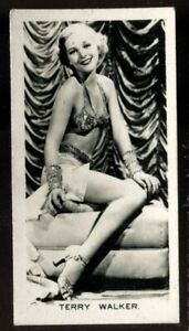 Tobacco Card, Carreras, FILM STARS, 2nd Series, 1938, Doris Weston, #54