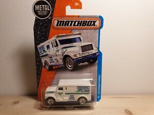 MATCHBOX INTERNATIONAL ARMORED TRUCK 1/64 3 inches