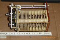 Spule 20 µH mit elektroantrieb, Variable Inductor, Antennenkoppler,Antennentuner