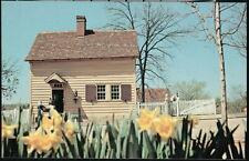 WINSTON SALEM NC Old Salem Tavern Gentlemen/'s Room /& Dining Area Vtg Postcard