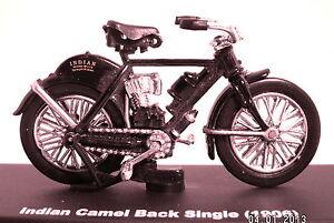 Indian Camel Back Single 1906 Black Scale 1:3 2 Diecast Model
