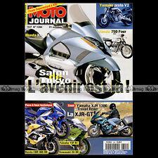 MOTO JOURNAL 1394 XJR 1300 YAMAHA R1 HONDA CBR 900 RR GL 1000 GOLDWING 1999