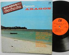 Orquesta ARAGON Boleros Con Cha Cha Cha  LP