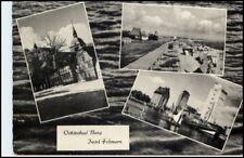 FEHMARN BURG 1962 Mehrbild-AK 3 s/w Foto-Ansichten Ansichtskarte Postkarte