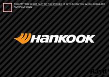 """(2) 12"""" Hankook Sticker Decal Die Cut Self Adhesive multicolor"""