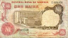NIGERIA 1 N  état voir scan 308