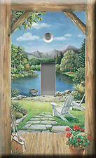 Single Light Switch Plate Cover - Lakeside View