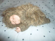 "Anne Geddes Porcupine Baby Doll 9"" Plush Soft Toy Stuffed Animal"
